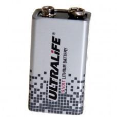 Ultralife 9 Volt, U9VL, U9VL-J Lithium Batterie