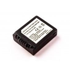AccuPower Akku passend für Panasonic CGA-S002, CGR-S002, DMW-BM7