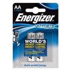 Energizer L91, AA/Mignon Lithium Batterie 2-Pack
