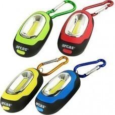 Arcas COB Karabinerleuchte Fishbowl LED Schlüsselleuchte