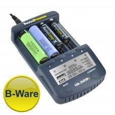 B-WARE: AccuPower Li-Ion/Ni-MH/Ni-Cd Ladegerät IQ328+ Display/Entladefunktion