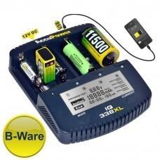 B-WARE: AccuPower Universal IQ338XL Ladegerät Li-Ion/Ni-Cd/Ni-MH