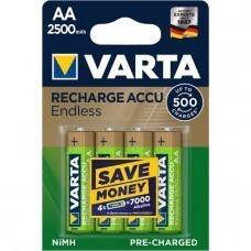 Varta 56686 Recharge Accu Endless Mignon Akku 4-Blister