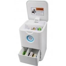 Eneroid Ladegerät für AA (Mignon) 2in1 Lader + Akku-/Batterieaufbewahrung
