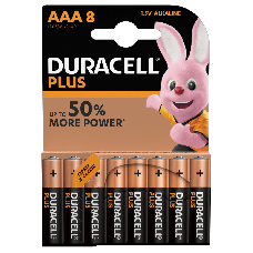 Duracell Plus MN2400 AAA/Micro Batterie 8-Pack