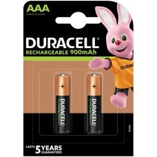 Duracell Rechargeable AAA, Micro, HR03 Akku 900mAh, 2-Pack