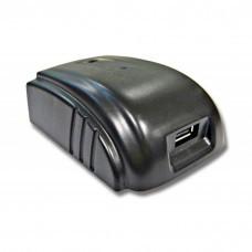 Akku-Adapter mit USB-Anschluss passend für AEG / Milwaukee