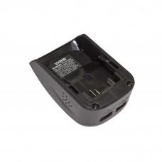Akku-Adapter mit 2x USB-Anschluss passend für Dewalt XR-Serie