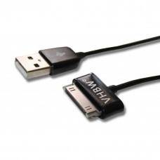 USB Lade- und Synchronisationskabel für Samsung Galaxy Tab, 1,2m