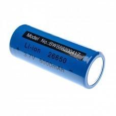 Zylindrische Akku Zelle 26650, Li-ion, 3,7V, 5000mAh