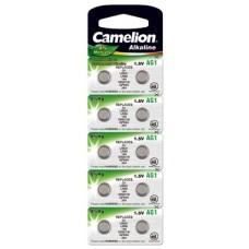 Camelion Knopfzelle AG1, 364, LR621, SR60, SR621SW, 10-Pack