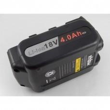 VHBW Akku für Panasonic wie EY9L50, EY9L54, 18V, Li-Ion, 4000mAh