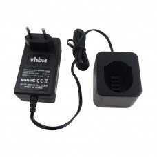 VHBW Ladegerät für Dewalt Werkzeug-Akkus 1.2V-18V (NiCD & NiMH)