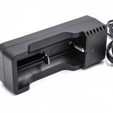 VHBW USB-Ladegerät für Lithium-Zellen u.a. Typ 18500, 18650, 14500, 18350 u.a.