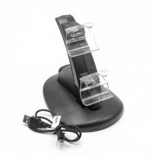 LED-Dual-Ladestation für Xbox One Controller, schwarz