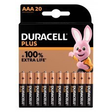 Duracell Plus MN2400 AAA/Micro Batterie 20-Pack