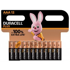 Duracell Plus MN2400 AAA/Micro Batterie 12-Pack