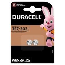 Duracell Knopfzelle 357, 303, V357, V303, SR44W, V13GS