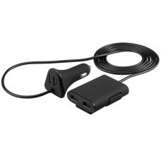 Quad USB-Autoladegerät / KfZ-Netzteil mit 4x USB