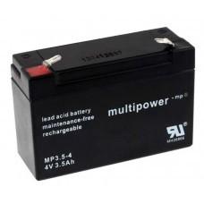Multipower MP3.5-4 Blei-Akku 4V