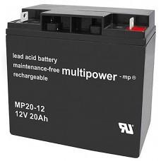 Multipower MP20-12 Blei-Akku 12 Volt