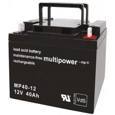 Multipower MP40-12 Blei-Akku 12 Volt