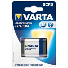 Varta 2CR5 Photo Lithium Batterie 6V