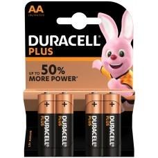 Duracell Plus MN1500 AA/Mignon/LR6 Batterie 4-Pack