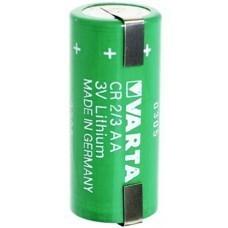Varta CR2/3AA Lithium Batterie, 6237 mit Lötfahne U-Form