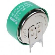Varta 2/V250H NiMH Akku aufladbare Knopfzelle