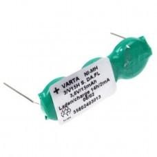 Varta 3/V15H Flatpack NiMH Akku aufladbare Knopfzelle