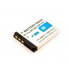 AccuPower Akku passend für Sony NP-BD1, DSC-T2, T200, T70, T75