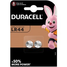 Duracell LR44, V13GA, GPA76, 82, LR1154, 357A Batterie 2-Pack