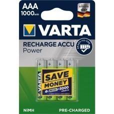 Varta 5703 Foto Professional AAA/Micro Akku 4-Pack
