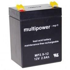 Multipower MP2.9-12 Blei-Akku 12Volt