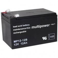 Multipower MP12-12B Blei-Akku 12 Volt