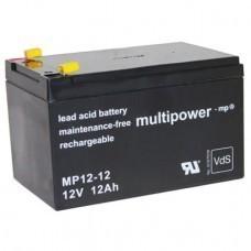 Multipower MP12-12 Blei-Akku 12 Volt