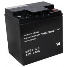 Multipower MP30-12C Blei-Akku 12 Volt
