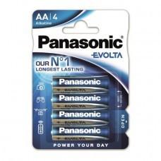 Panasonic EVOLTA AA/Mignon Alkaline Batterie 4-Pack