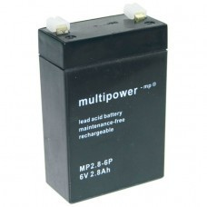 Multipower MP2.8-6 Bleiakku