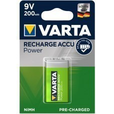 9 Volt NiMH Akku Varta Power Play 6AM6 56722101401