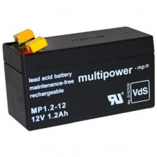 Multipower MP1.2-12 Blei-Akku 12Volt