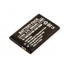 AccuPower Akku passend für Samsung SGH-F400, -L700, SGH-J800