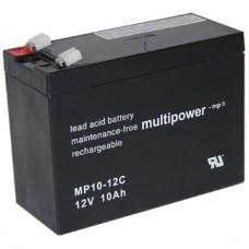 Multipower MP10-12C(S) Blei-Akku 12Volt