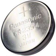 CR2354 Lithium Batterie mit Vertiefung am Minuspol