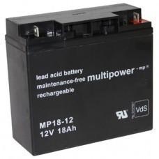 Multipower MP18-12 Blei-Akku 12 Volt