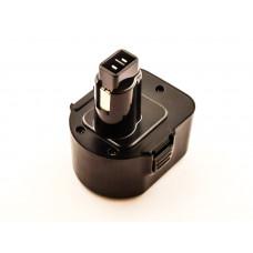 Akku passend für Black & Decker, Dewalt, ELU, Berner Werkzeuge 12 Volt