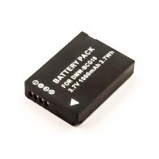 AccuPower Akku passend für Panasonic DMC-TZ7, -TZ10, DMW-BCG10E