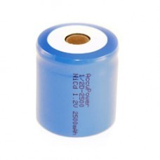 AccuPower Flat Top NiCd Akku 1,2V 1/2D im Kunststoffmantel