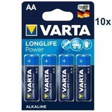 Varta 4906 High Energy AA/Mignon/LR06 Batterie 10x 4-Pack